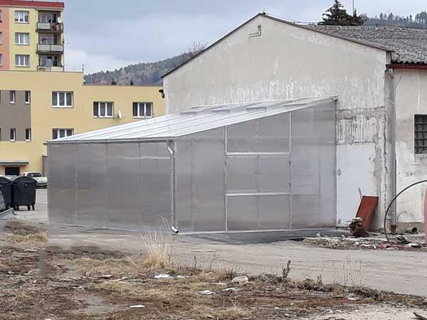 Fotogalerie skleníků kezdi od České skleníky Hladík