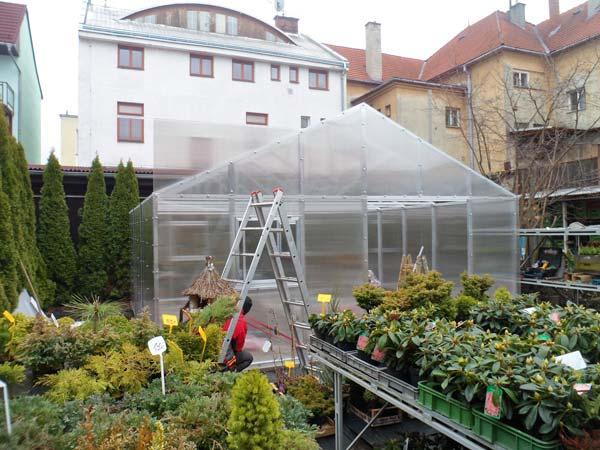 Profesionální skleník od České skleníky Hladík